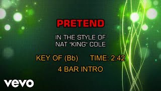 Nat King Cole - Pretend (Karaoke)