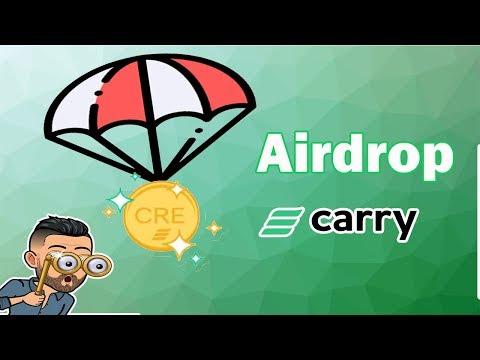 🔴JÁ LISTADO🔴 5.000.000 Milhões de tokes GRÁTIS no Aidrop Carry . IMPERDÍVEL !