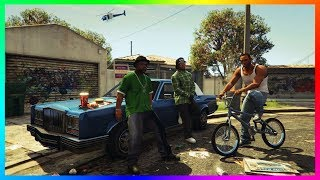 "NEW Carl ""CJ"" Johnson San Andreas Easter Egg Found In Grand Theft Auto 5! (GTA 5 San Andreas CJ)"