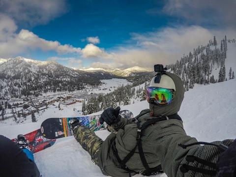 Lake Tahoe Snowboarding - Winter Wonderland 2017