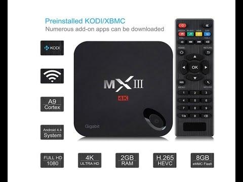 Unboxing VicTsing MX3 MXIII Amlogic S812 Quad Core Android 5.1. 2Gb RAM Español