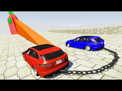 High Speed Jumps #55 - Oddly Satisfying Car Crashes - BeamNG Drive