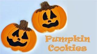 How To Decorate Halloween Pumpkin Cookies