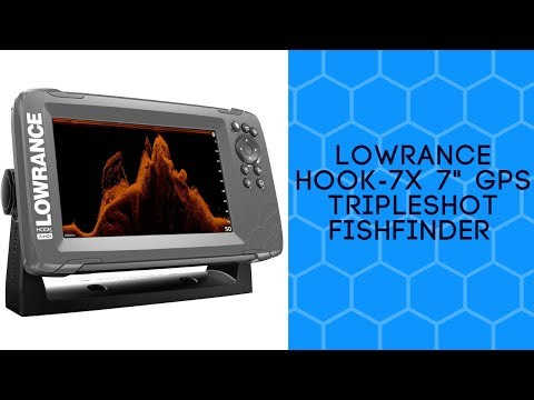 Lowrance HOOK-7x 7″ GPS TripleShot Fishfinder Review