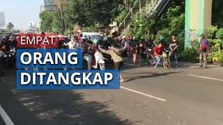 Viral Balap Liar hingga Tutup Jalan di Tangsel, Empat Orang Pelaku Ditangkap Polisi