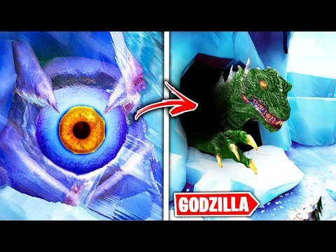 Fortnite GODZILLA EVENT! - Everything YOU NEED TO KNOW! (POLAR PEAK EVENT SECRETS)