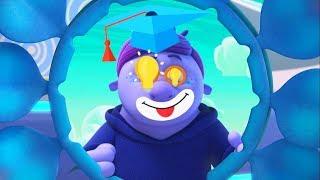 Монсики - все серии про Блюма - сборник -  мультфильм для детей – чувства и эмоции