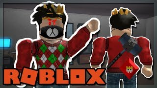 I GOT KNOCKED OUT OF THE EXIT IN ROBLOX FLEE THE FACILITY!