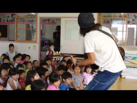 東田トモヒロ【Lucky Birthday(ラッキーバースデイ)】in南相馬よつば保育園