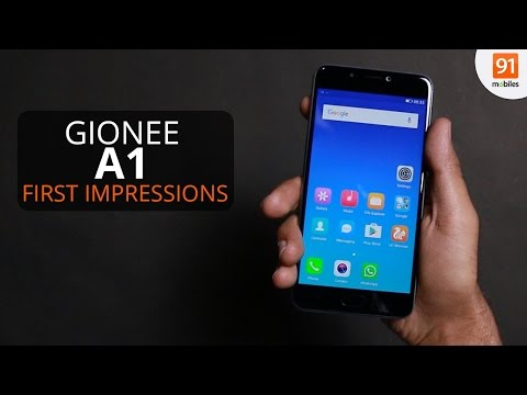 Gionee A1: First Look | Hands on | Launch | MWC 2017