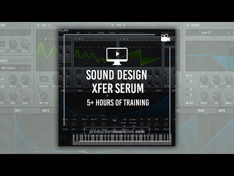 5h+ Online Course: Sound Design with Xfer Serum - YouTube