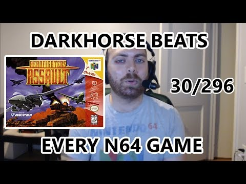 Aero Fighters Assault - Darkhorse Beats EVERY N64 Game - The Great N64 Challenge