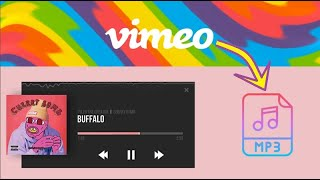 Record/Download/Convert Vimeo to MP3 in Best Quality Easily