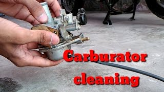 carburator cleaning of scooter  | Mr. Automobiler