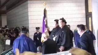 大関稀勢の里初優勝パレード!!