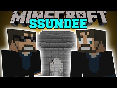 VIDEO: Minecraft: SSUNDEE MOD (DERP SSUNDEE, JAILBREAK, & MR