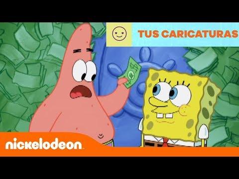 Bob Esponja | Qué hacer con mucho dinero | Latinoamérica | Nickelodeon en Español