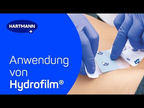 Anwendung von Hydrofilm®