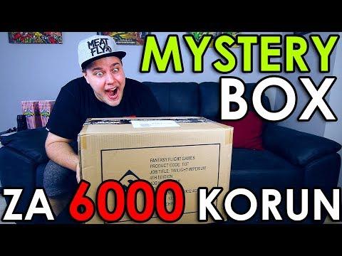 VELKEJ MYSTERY BOX ZA 6 000 KORUN