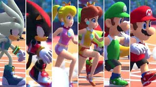 Mario & Sonic at the Olympic Games Tokyo 2020 - 110m Hurdles (All Characters)