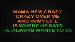 SC2121 06   Judds, The   Mama He's Crazy [karaoke]