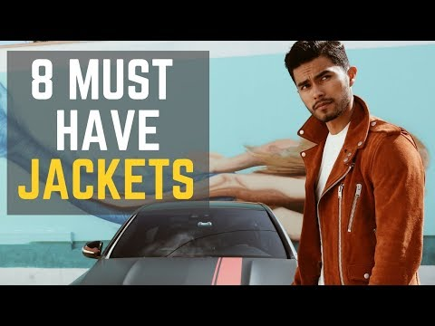 8 Jackets Every Man Should Own