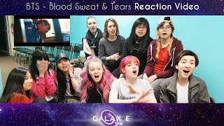 [Galax-E] BTS(방탄소년단) - Blood Sweat & Tears Japanese M/V Reaction