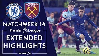 Chelsea v. West Ham United | PREMIER LEAGUE HIGHLIGHTS | 11/30/19 | NBC Sports