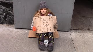 Would You Help A Homeless Child Left On The Street?