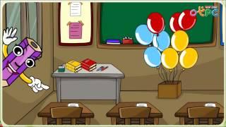 สื่อการเรียนการสอน รูปร่างและขนาด ป.1 คณิตศาสตร์