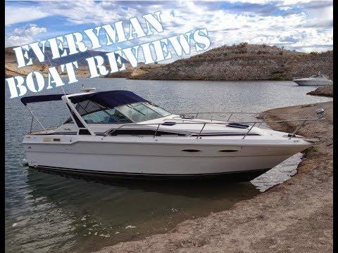Everyman Boat Reviews - Sea Ray Weekender 300