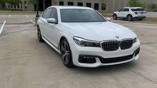 Pre-Owned 2018 BMW 7 Series 740i MSportPKG DriveAssistPKG PanoRoof AutomaticParking