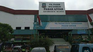 Belum Diketahui Penyebab Terbakarnya Pasar Anyar Tangerang