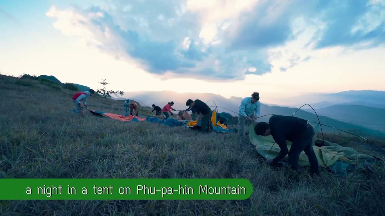 Trekking, Camping at Phu Ya Kha, Camping at Phu Pa Hin