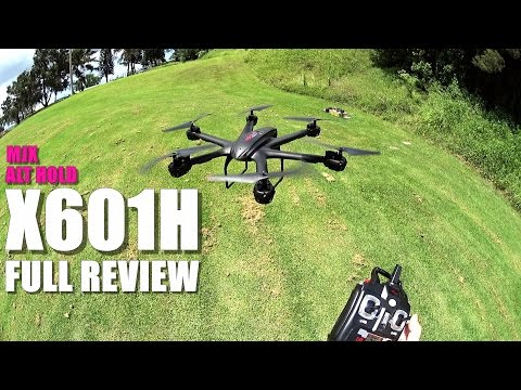 MJX X601H Full Review - Alt Hold FPV Hex - [UnBox, Inspection, Setup, Flight Test, Pros & Cons]
