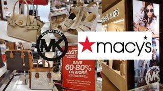 MICHAEL KORS SHOES & HANDBAGS SHOPPING AT MACYS | SHOP WITH ME