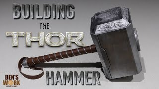 HOW TO MAKE THOR'S HAMMER **Diy Costume** - Video Youtube