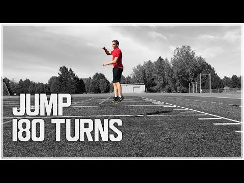 Vertical Jump 180 Turns | Body Control and Jump Training Exercise