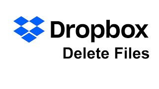 How To Delete Dropbox Files, Photos & Folders 2021 | Clear & Free Up Space In Dropbox