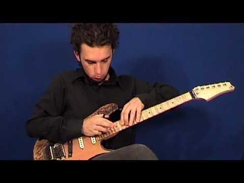Progressive metal solo lesson