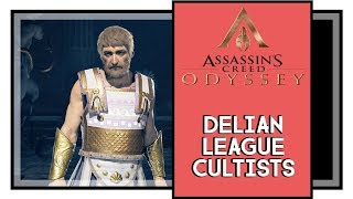 Assassin's Creed Odyssey Delian League Cultist Locations [One Head Down Trophy / Achievement]