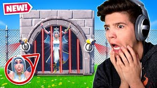 TRAPPED IN FORTNITE PRISON...