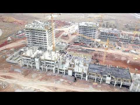 Şehrin Yeni Yaşam Merkezi Beytepe'de Yükseliyor