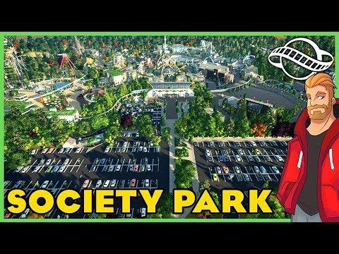 Society Park: Mega Park! Park Spotlight 172 #PlanetCoaster