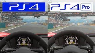 Gran Turismo Sport | PS4 VS PS4 PRO VR | Playstation VR Comparison