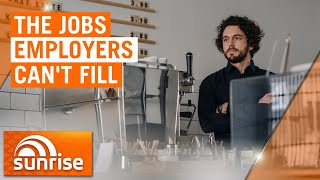 Employers across the hospitality industry struggling to fill jobs | 7NEWS