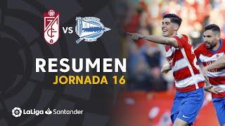 Highlights Granada CF vs Deportivo Alavés (3-0)
