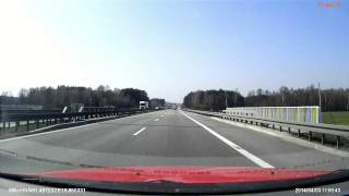 preview picture of video 'S8 Tomaszów Mazowiecki Centrum - Piotrków Trybunalski'