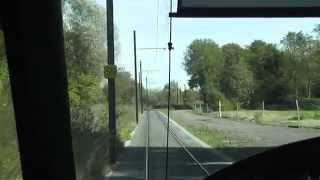 preview picture of video 'Tramway de Valenciennes (5) - Ligne 2'