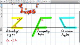 Angles And Parallel Lines Grade 9 Lesson 8 2 5 12 14